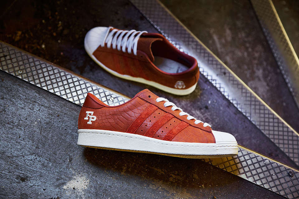 Adidas Superstar Croco Bordeau