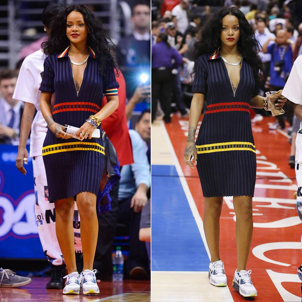 new styles 072af 63e0b ... air jordan modele jupe ... Porter des sneakers avec une robe ou une jupe  – Le Buzz Snea ...