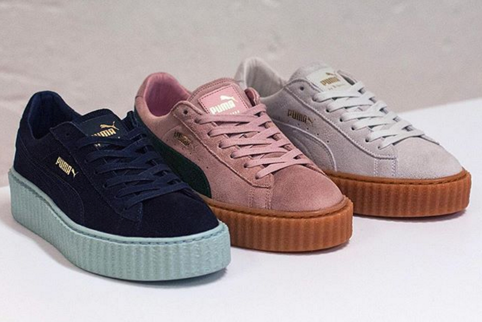 puma by rihanna creeper blanche